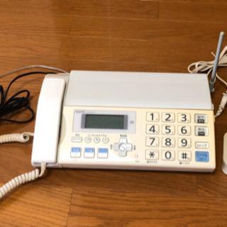 ファックス機能付き電話機