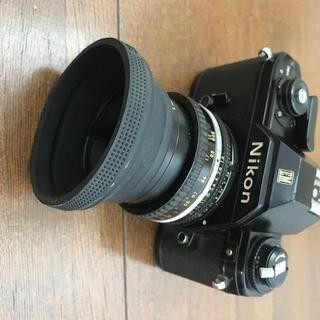 商談中 ニコンフィルム1眼レフカメラEM 50ミリ f1.8付き