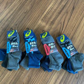 アシックス メンズ靴下12足まとめ売り 高機能