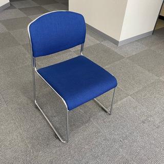 椅子 チェア 青 ブルー CHITOSE  オフィス使用