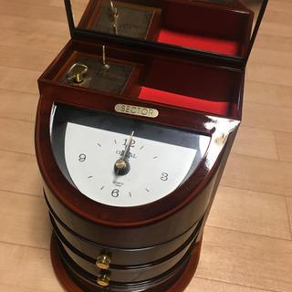 オルゴール付き収納時計