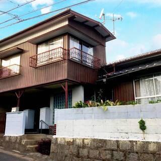 【4DK 2階建戸建】 軽1台屋根付駐車場、初期費用0円も、ペッ...