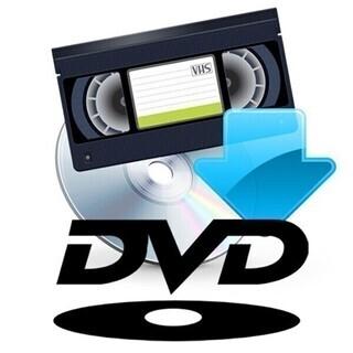 VHS→DVDコピー ダビング バックアップ ビデオテープ DV...
