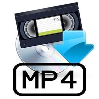 VHS→MP4 ダビング バックアップ ビデオテープ コピー デ...
