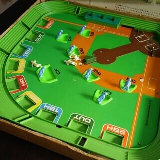 1971年 当時物 ブリキ エポック社のサッカーゲーム & 野球盤 - 松戸市