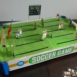 1971年 当時物 ブリキ エポック社のサッカーゲーム & 野球盤 - おもちゃ