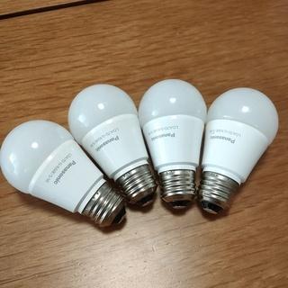 パナソニックLED電球 4個 昼光色