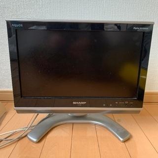 AQUOS 16インチ テレビ シャープ