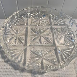 透明ガラスプレート 中古
