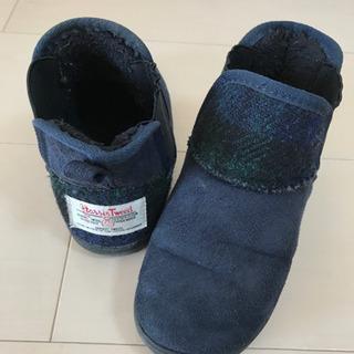 【Harris Tweed】ブーツ BREEZE 18cm