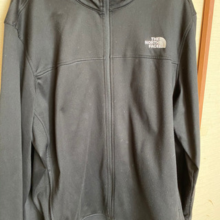 North Face track jacket XXL 中古品