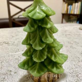 大きなもみの木 クリスマスキャンドル