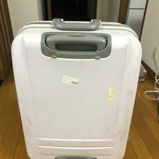 スーツケース白