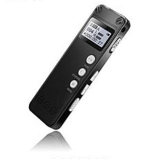 ボイスレコーダー高音質 ノイズキャンセル 8GB大容量 36H長...