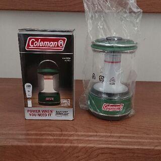 コールマン バッテリーガード 未使用 小型ランタン