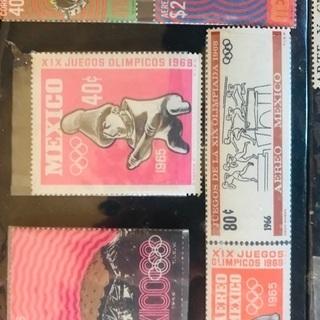 古いメキシコの切手🇲🇽