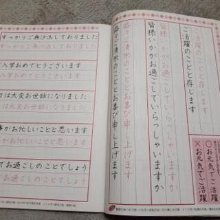 ダイソー 美文字練習帳 実用編 - 本/CD/DVD