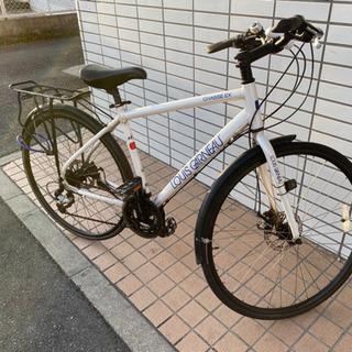 大阪・兵庫【ルイガノ】LGS-CHASSE EX クロスバイク 白