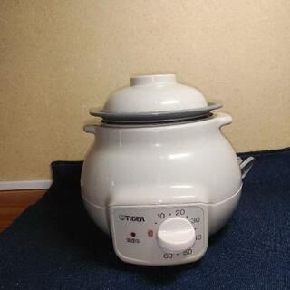 タイガー電気おかゆ鍋 0.25~0.75合炊き 全がゆ•五分がゆ
