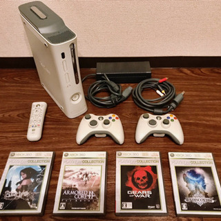XBOX360 + ソフト4本セット
