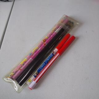 鉛筆 HB3本 B1本 丸つけペン2本