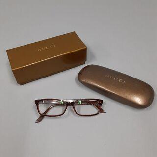 GUCCI 眼鏡 ブラウン お売りします。