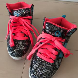 【Op】アメリカで購入 スニーカー 靴 ダンスシューズ 約20cm