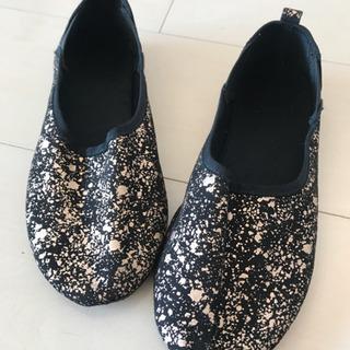 バレエシューズ 靴 スリッポン US2(20.5cmくらい)