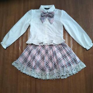 120センチ女の子 フォーマルスーツ - 服/ファッション