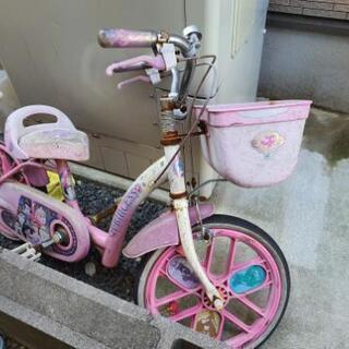 プリンセス自転車(幼児用)