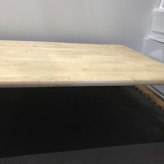 値下げしました  折り畳み式テーブル 取りに来ていただける方