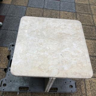 大理石テーブル 幅55×55高さ46cm