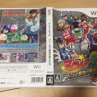 値下げ中 Wiiゲームソフト アイシールド21