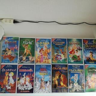 ディズニー日本酒吹替え版VHS ビデオ12本セット