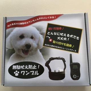 犬の無駄吠え防止器具