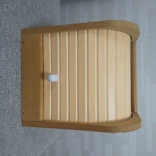 ★木製★隠せる収納ボックス