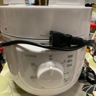 並品 シロカ Siroca 電気圧力鍋 SP-A111 3合炊き