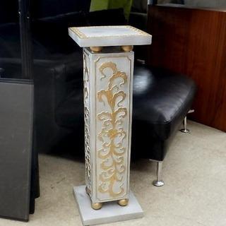 ローマンスタンド 柱 飾り台 ヨーロピアン風 置物 札幌市西区