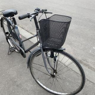 自転車◆グレー◆28インチ◆市内配送可能!!