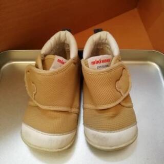 幼児 靴 約11センチ ミキハウス ファーストシューズ