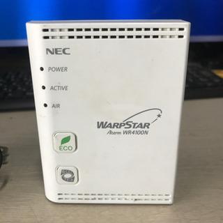 NEC wifiルータWR4100N