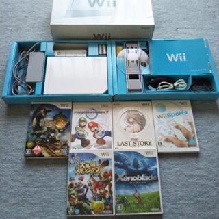 【取引中】Wii本体とソフト6本