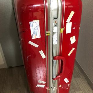<話し中>大型キャリーケース 赤 ★無料 - 靴/バッグ