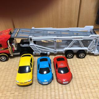 トレーラー 車 おもちゃ トラック
