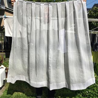 家庭用レースカーテン