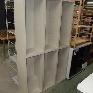 R0976) ニトリ オープン書棚 パッソ2 110WH 洗濯機...