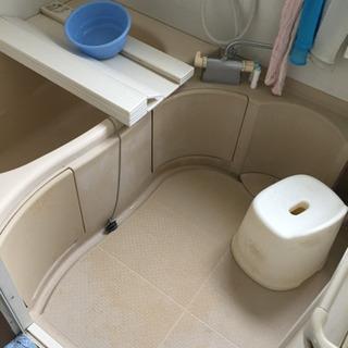 浴室清掃☆高圧洗浄機でカビも汚れもスッキリ☆