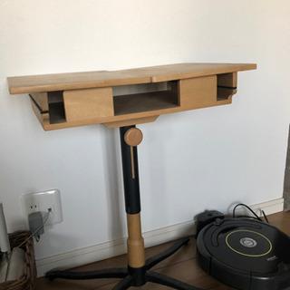 IKEA折り畳みデスクサイドベッドPC台