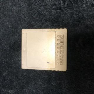 【メモリーカード、白 59ブロック】ゲームキューブ(GC)用【配...