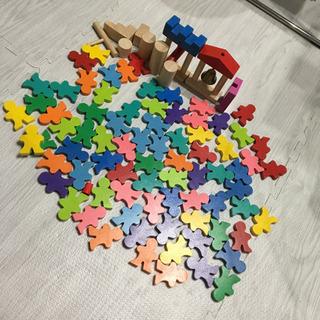 家で遊ぶ道具‼️【知育玩具】木製ドミノ